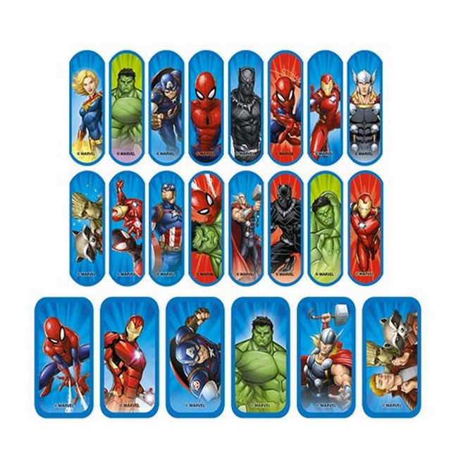 hansaplast marvel junior 20 1
